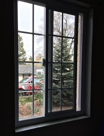 new energy efficient dual pane glass window replacement